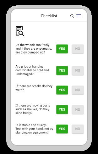 Manual&MechanicalHandling - Checklist