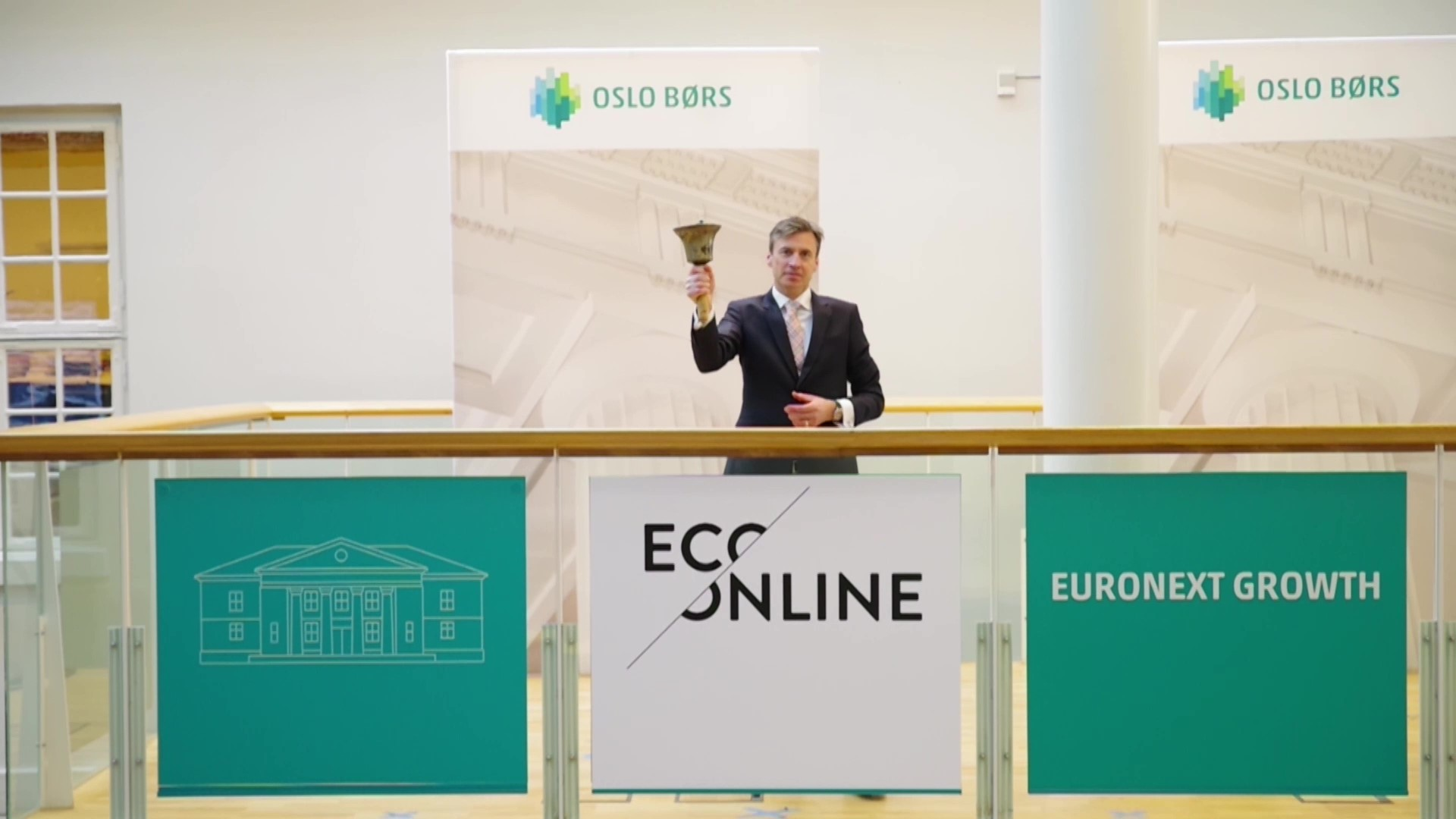 Oslo Stock Exchange announces EcoOnline as a trading company, March 24 2021